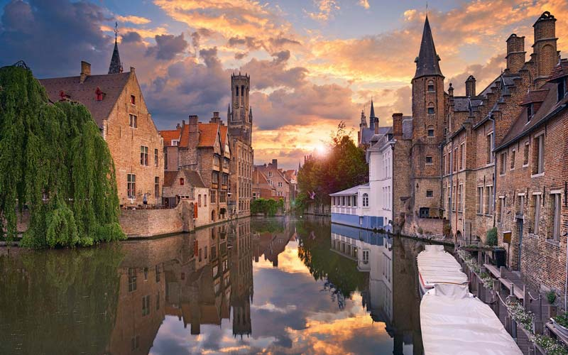 Brugges-Belcika-Avrupa
