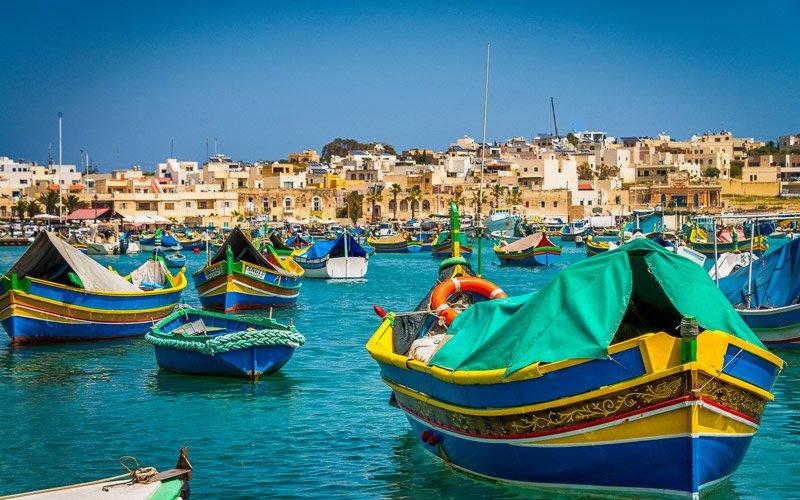 Marsaxlokk-Malta
