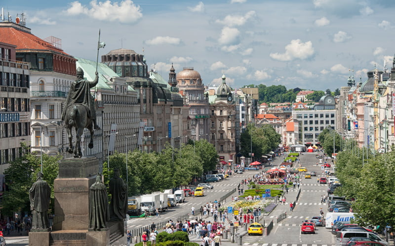 Prag-Gezilecek-Yerler-Wenceslas