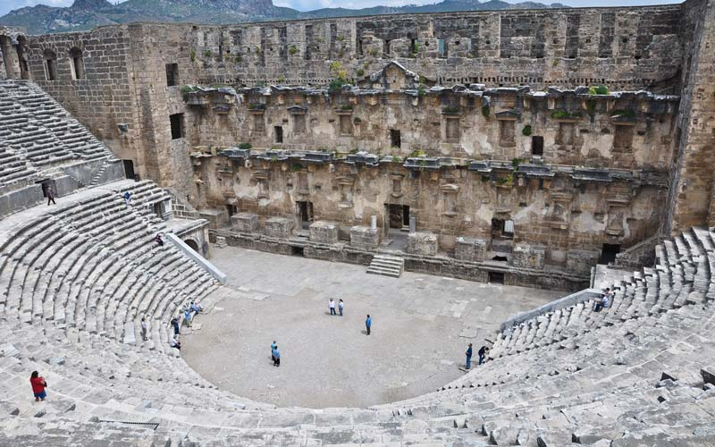 Turkiye-Antik-Kentler-Aspendos