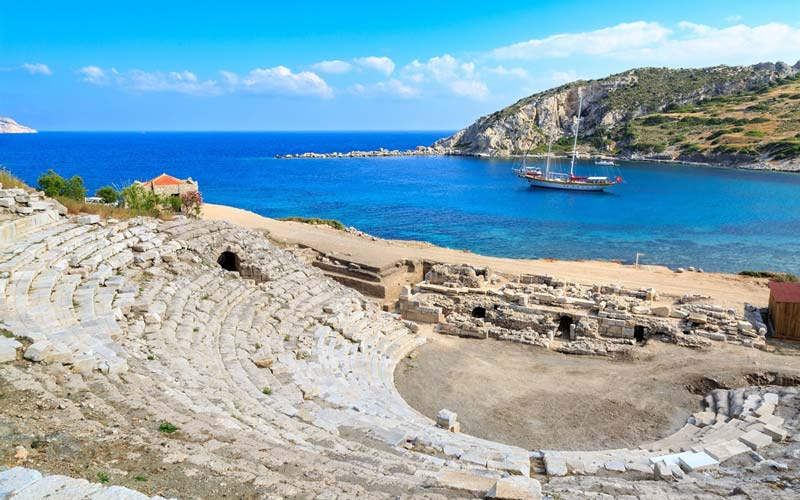 Turkiye-Antik-Kentler-Knidos
