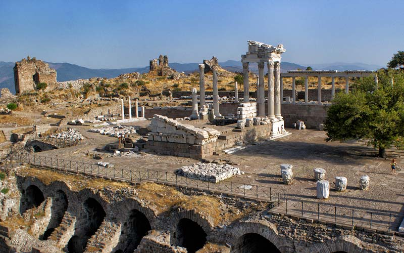 Turkiye-Antik-Kentler-Pergamon