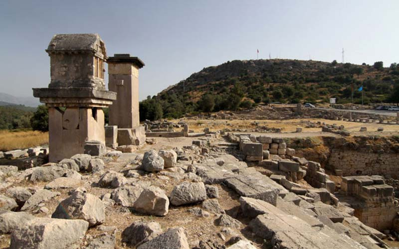 Turkiye-Antik-Kentler-Xanthos